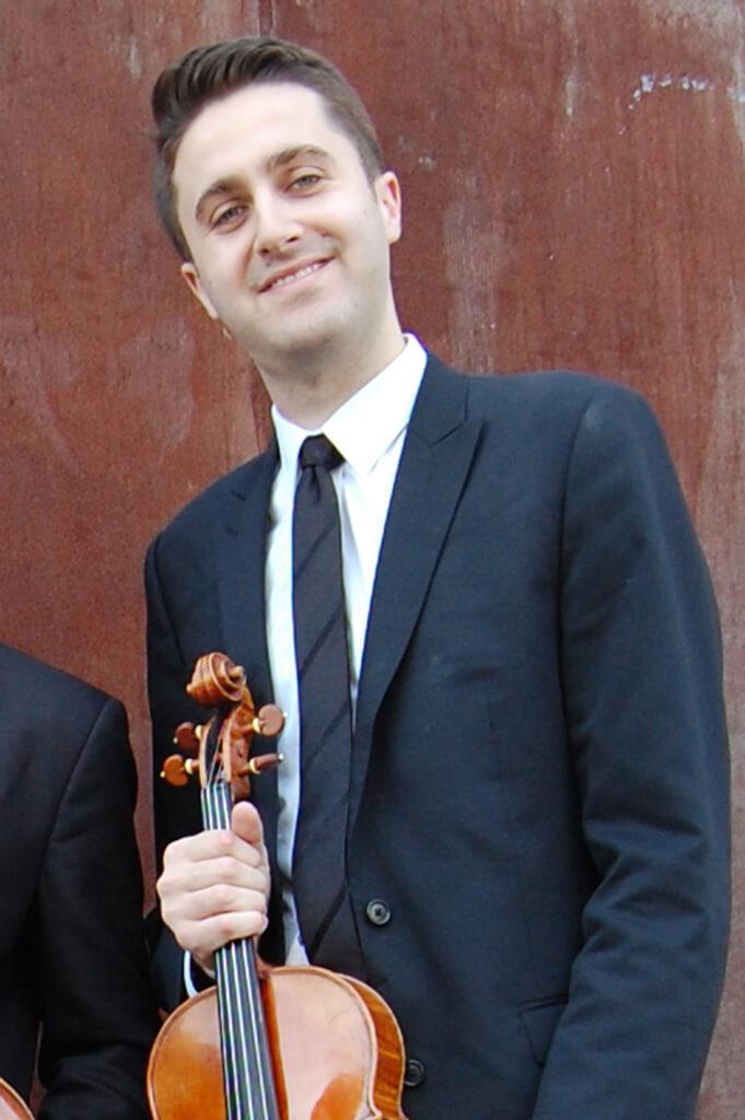 Evan Antes Promenade String Quartet