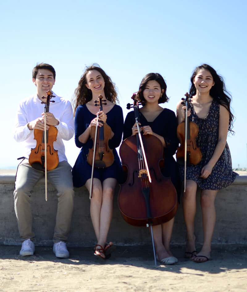 Booking info Oceanside String Quartet
