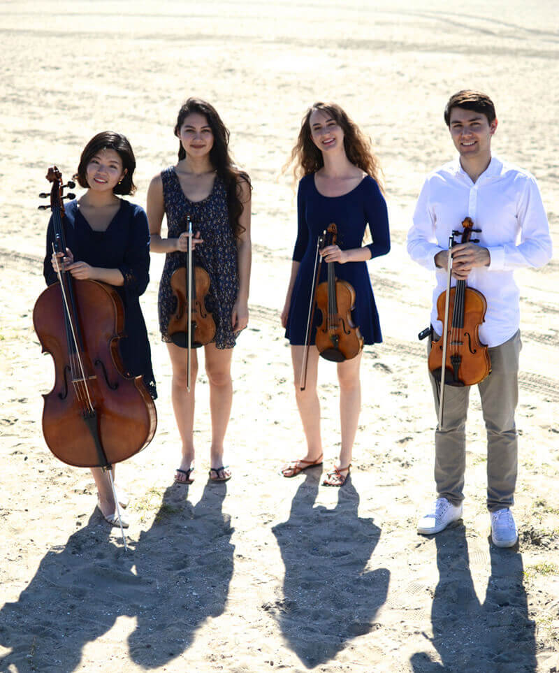 Oceanside String Quartet in Orange County The perfect quartet