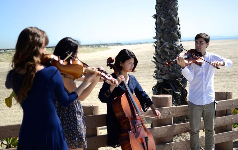 Oceanside String Quartet weddings