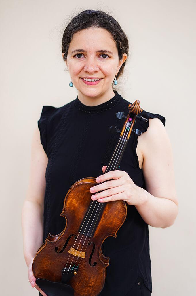 Leila Nunez Fredell Promenade String Quartet